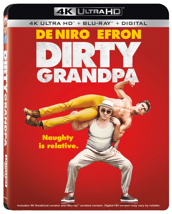 Dirty Grandpa 4K Cover