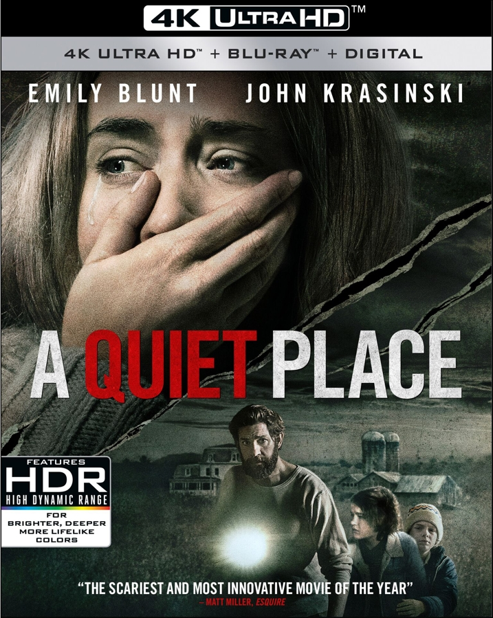 A Quiet Place 4K Cover