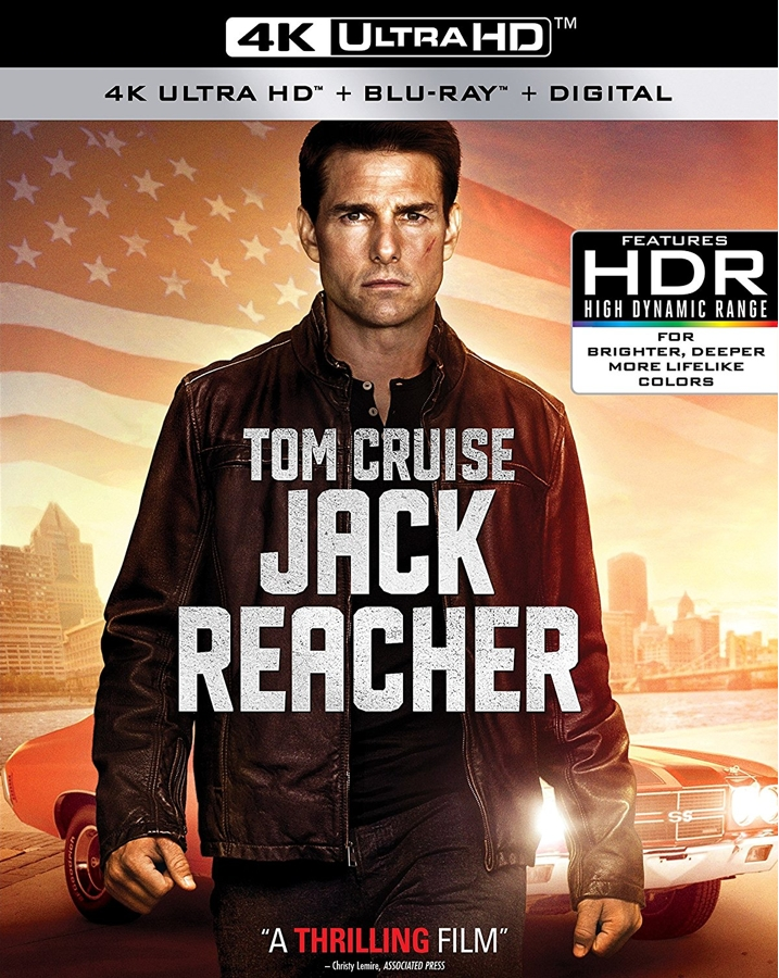 Jack Reacher (4K UHD Blu ray Review) at Why So Blu?