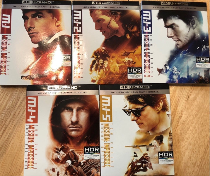 Mission Impossible 4K Collection
