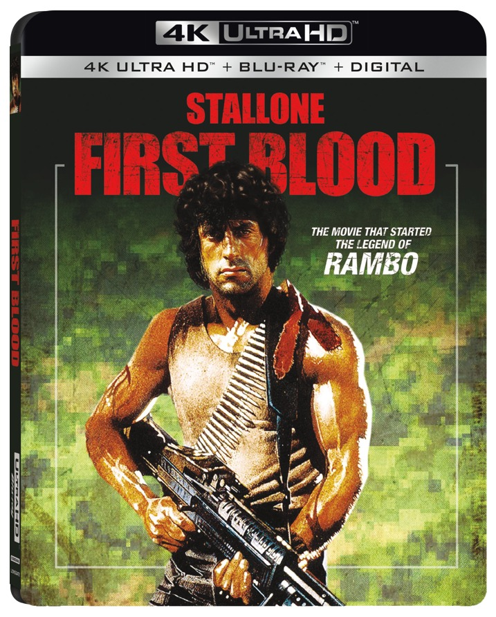 First Blood 4K Cover