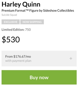 Buy the Sideshow Exclusive Edition Harley Quinn Premium Format