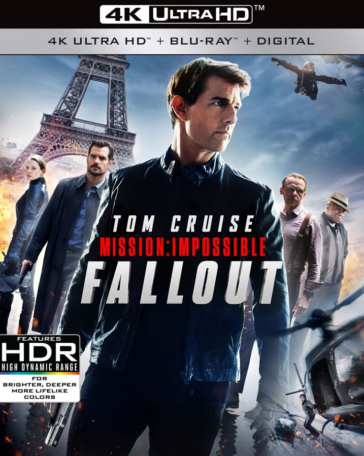 Mission: Impossible Fallout 4K Cover