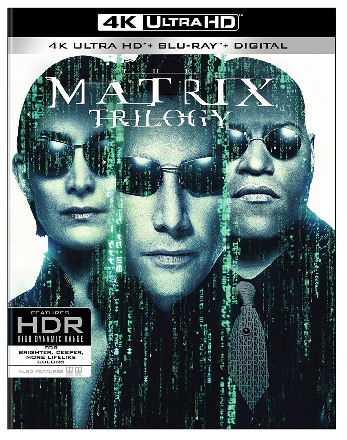 The Matrix Trilogy 4K Cover