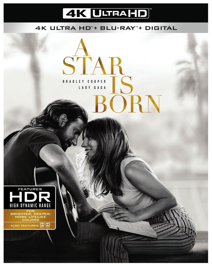 A Star Is Born 4K Cover