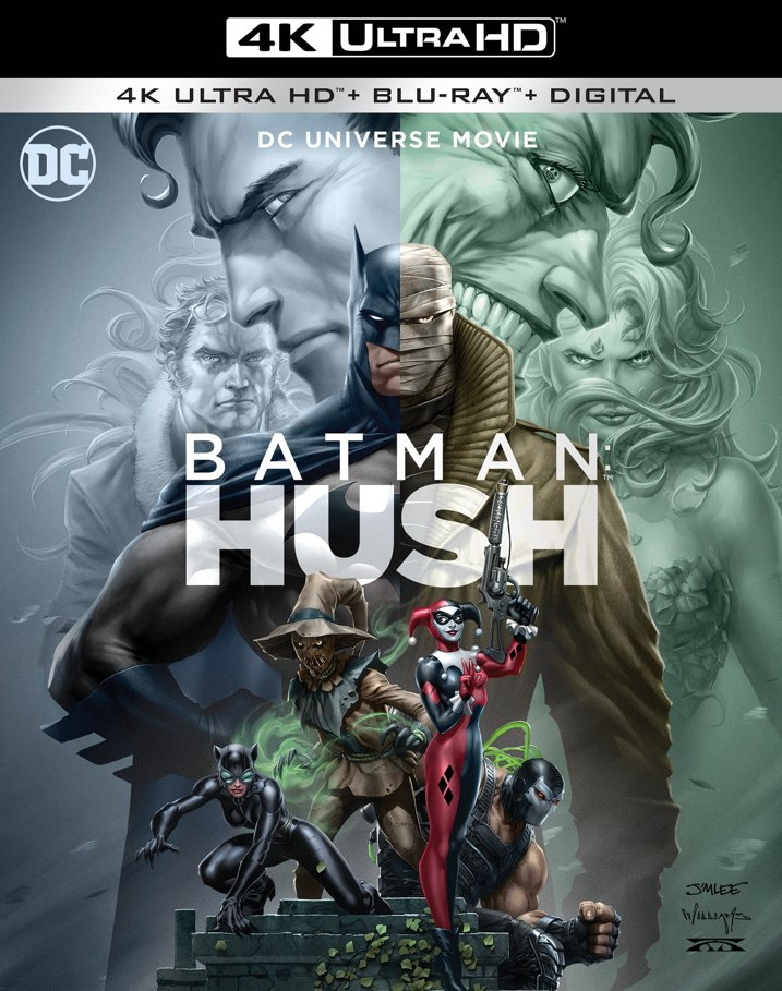 Batman: Hush 4K Cover