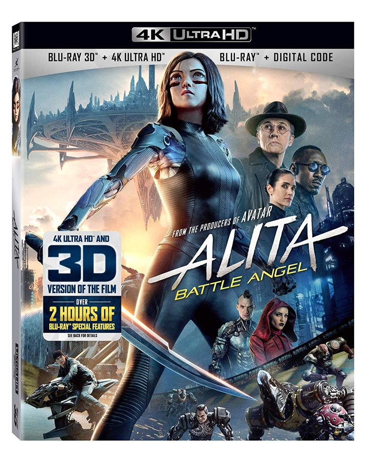 Alita Battle Angel 4K