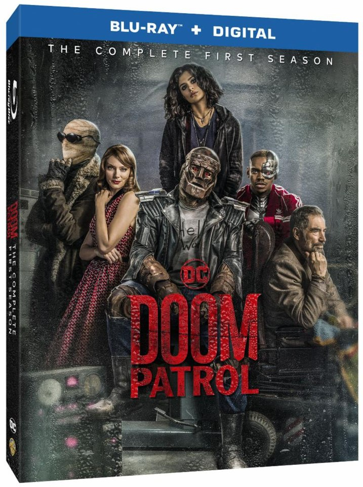 Doom Patrol Season 1 Blu-ray Cover