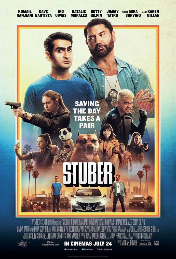 Stuber Movie Review