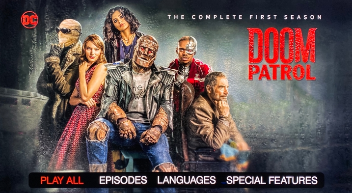 Doom Patrol BD Menu