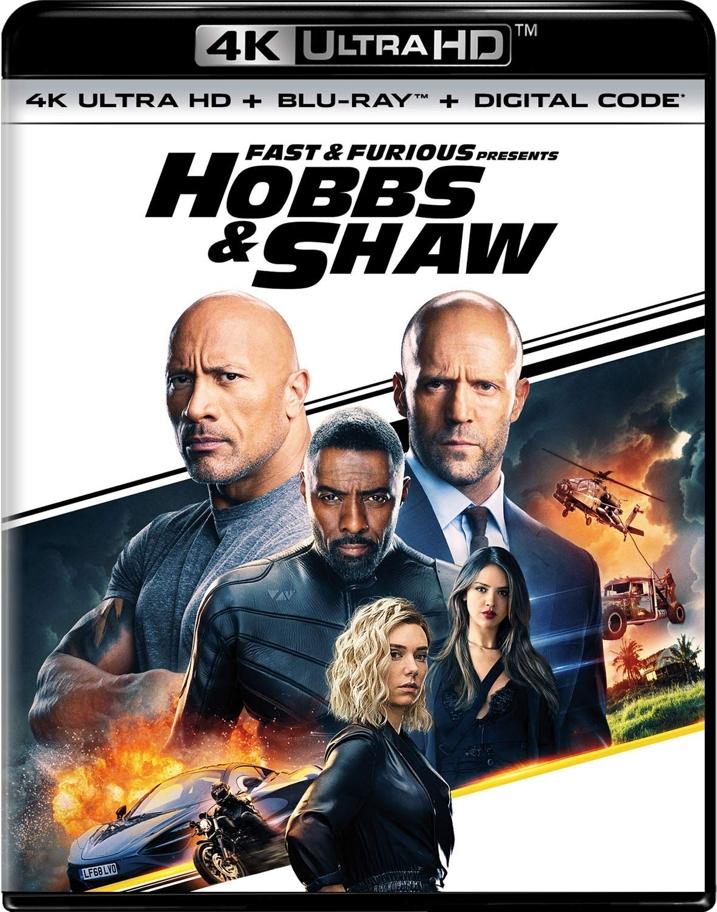 Hobbs & Shaw 4K
