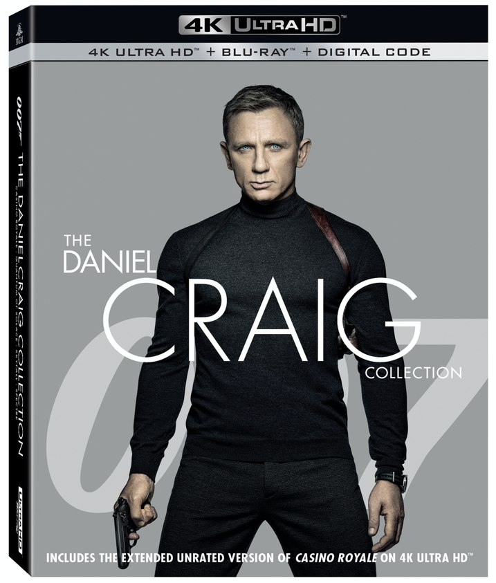 007 The Daniel Craig Collection 4K Review